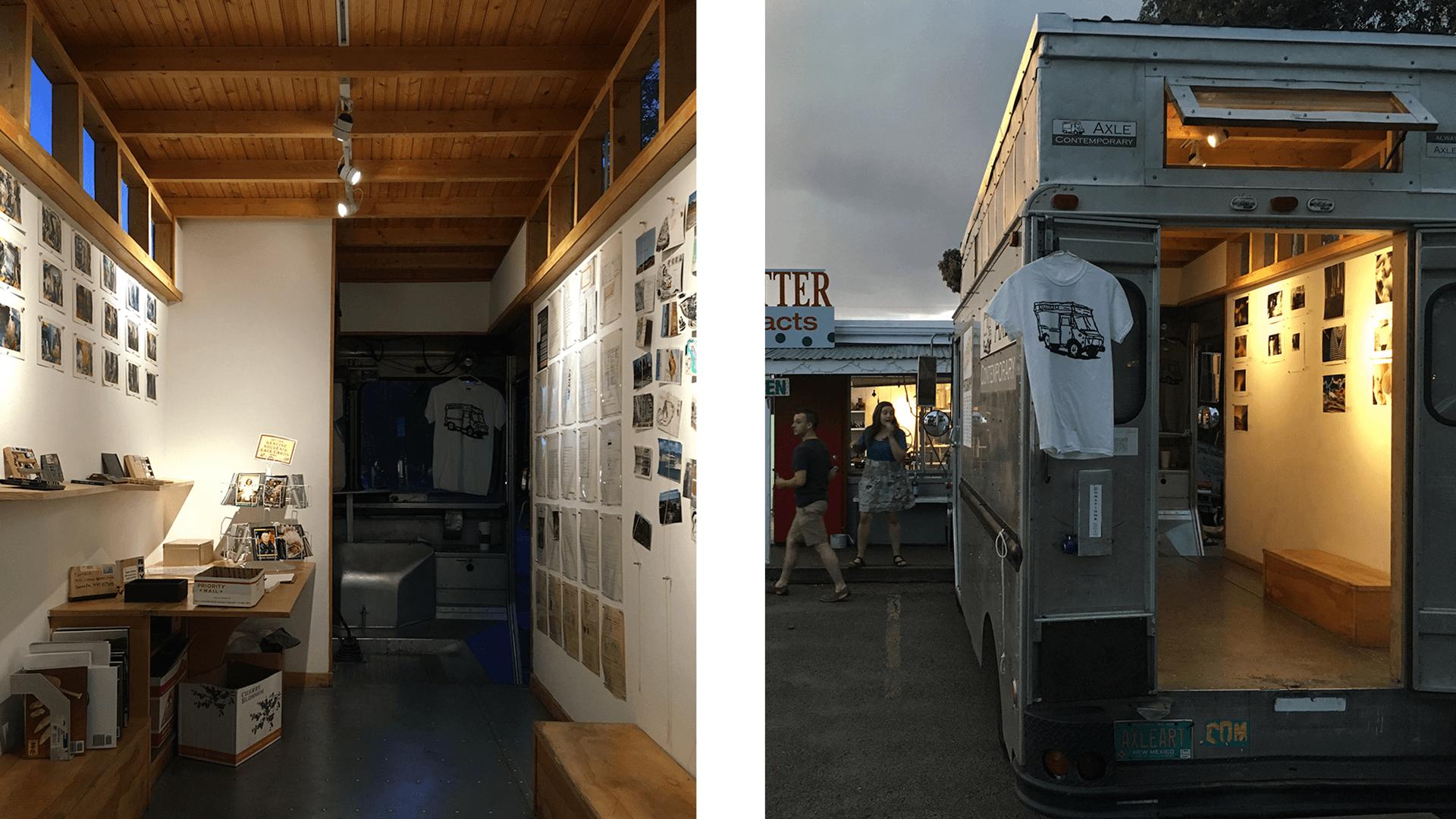 axle contemporary interior truck
